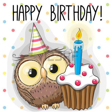 46716889-gratulationskort-söt-tecknad-owl-med-tårta